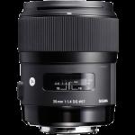Sigma 35mm f/1.4 A