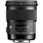 Sigma 50mm f/1.4 A